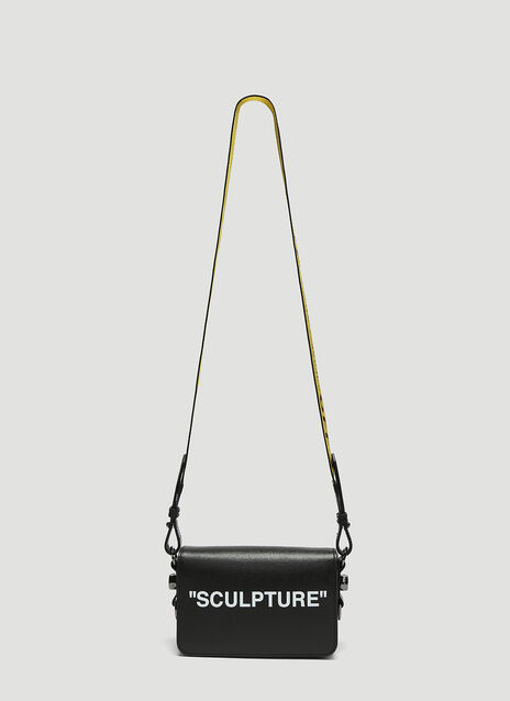 Off-White Sculpture Mini Flap Shoulder Bag