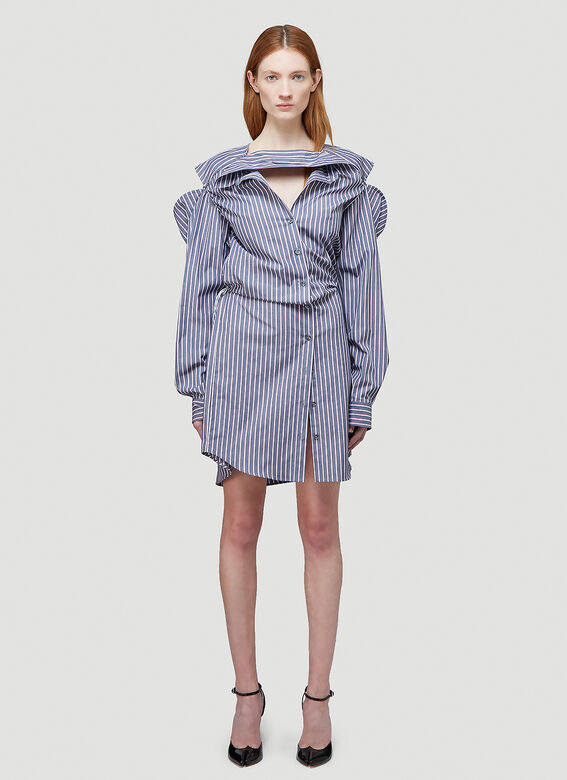 Y/Project CONVERTIBLE SHIRT DRESS 1