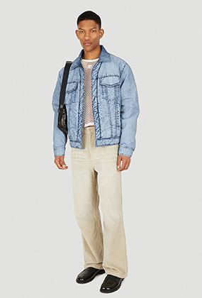 Homme Plisse Issey Miayke Striped Pleated Shirt