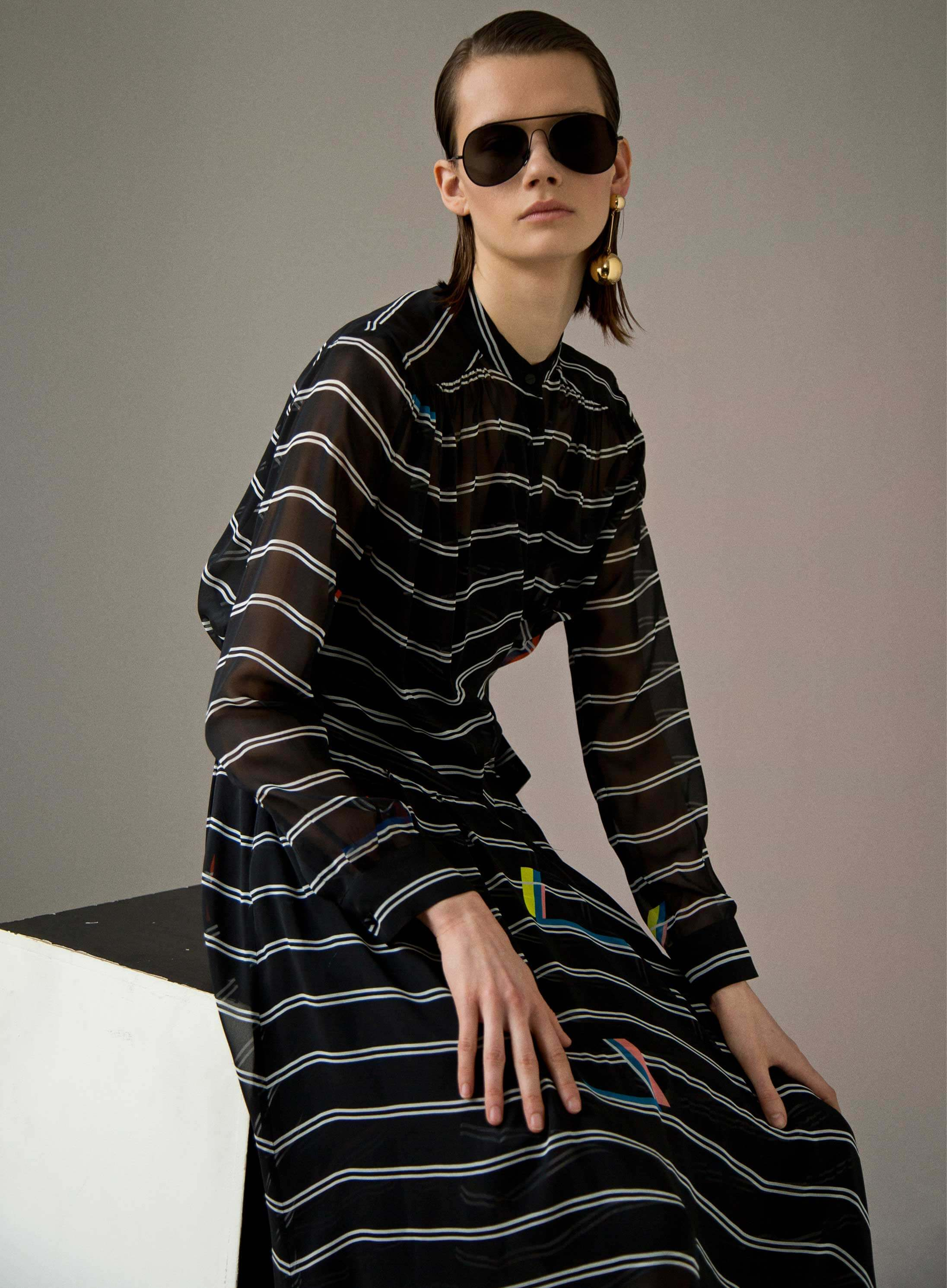 Directional Yet Demure Clothing For The Cool Modern Woman: In Focus: Preen By Thornton Bregazzi