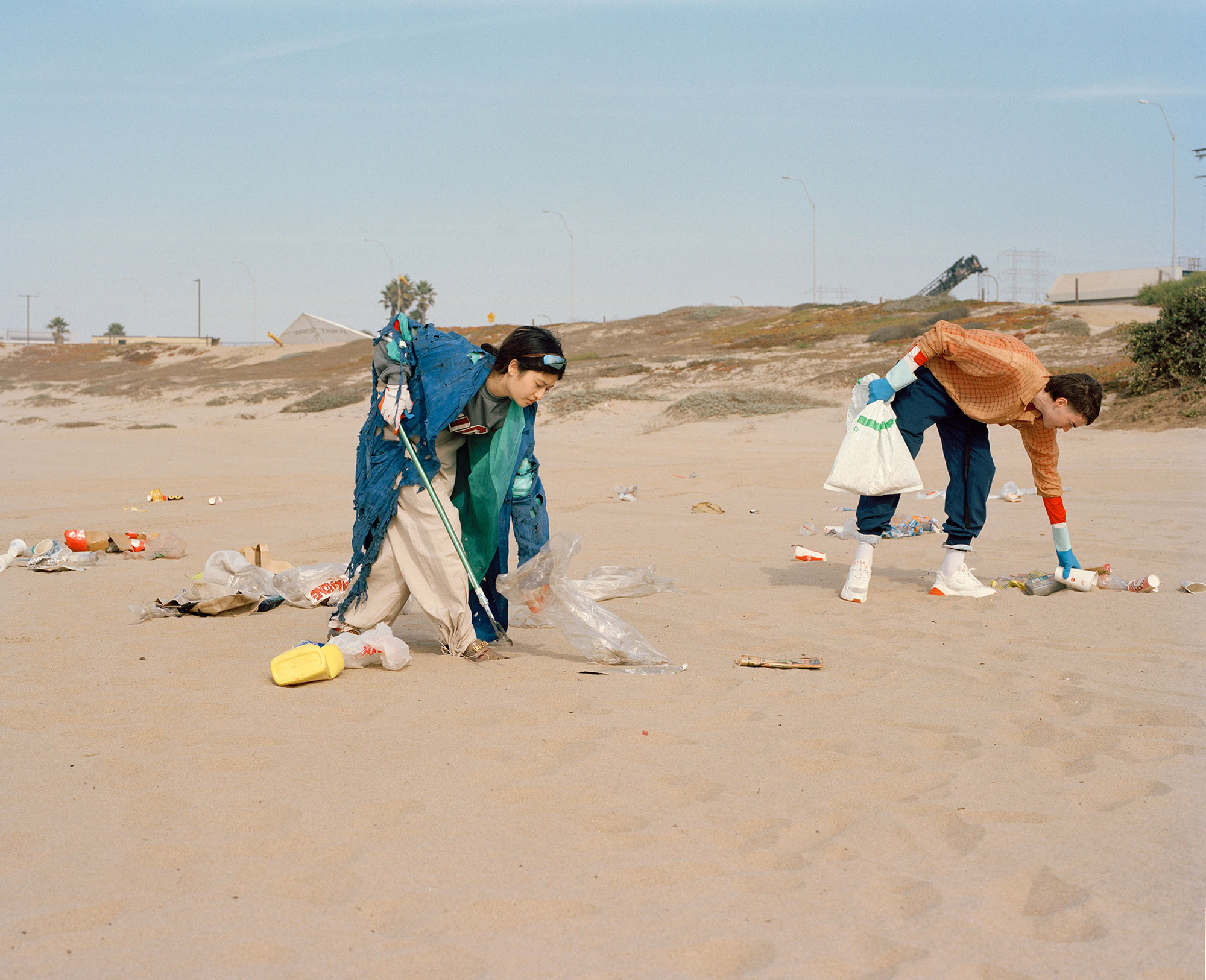 Worlds Oceans day clean up