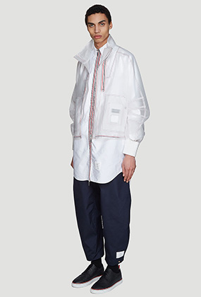 Transparent Articulated Jacket