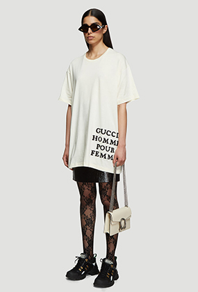 Oversized Appliqué T-Shirt