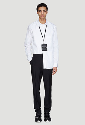 Constructed Layer Detail Shirt