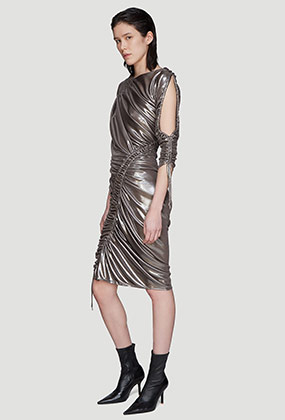 Mercury Ruched Dress