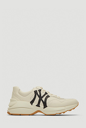 Rhyton Sneaker with NY Yankees™ Print